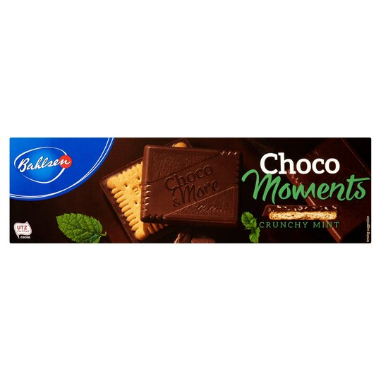 Bahlsen Choco Moments Crunchy Mint Biscuit 120G