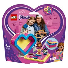 image 1 of LEGO Friends Olivia's Heart Box Doll Playset 41357