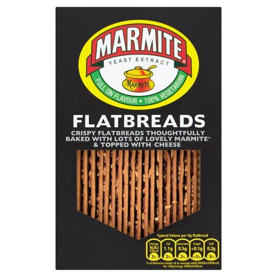 Marmite Flatbreads 140G