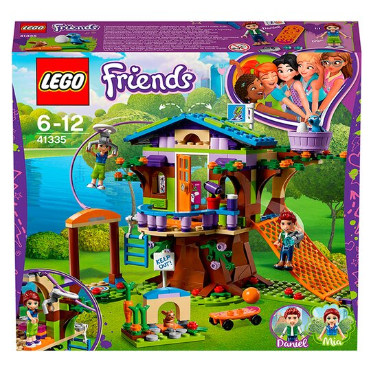 image 1 of LEGO Friends Mia's Tree House Mini Dolls for Girls and Boys 41335
