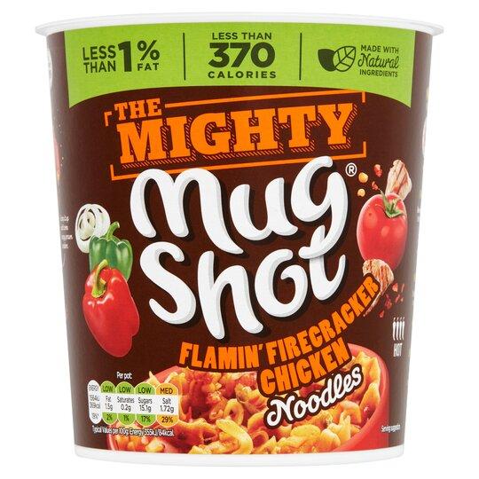 Mug Shot Mighty Chicken Flamin' Firecracker 110G