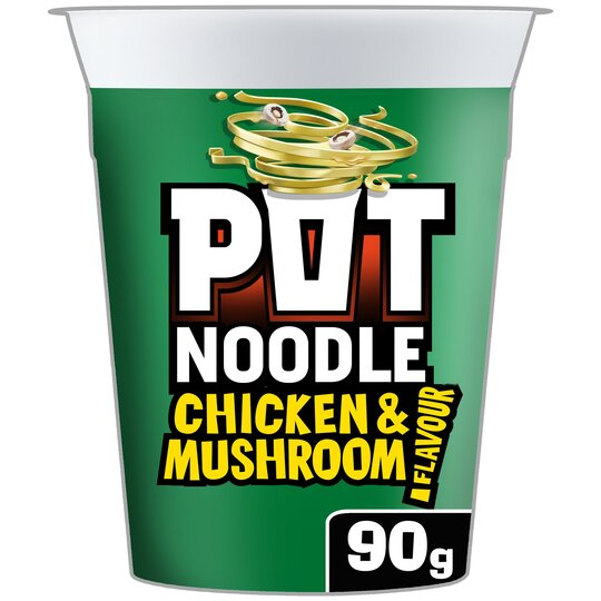 Pot Noodle Chicken And Mushroom 90G