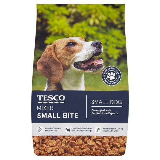 Tesco Dog Small Bite Mixer 1.8Kg