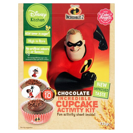 Disney Incredibles Chocolate Cupcake Kit 125G