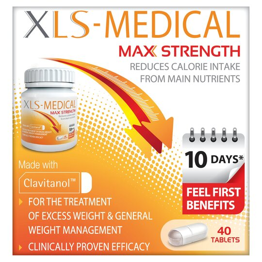 Xls Medical Max Strength 40 Tablets