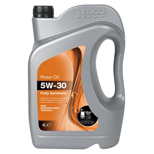 Tesco 5W30 F  Synthetic Oil Bmw/Vx/Mb 4L