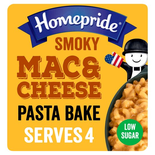 Homepride Smoky American Smoky Mac And Cheese 350G
