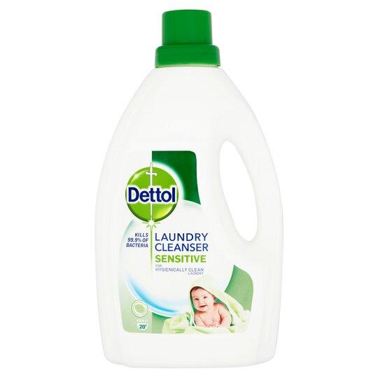 Dettol Antibacterial Laundry Cleanser Sensitive 1.5 L