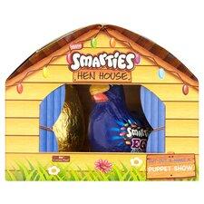 image 2 of Nestle Smarties Milk Chocolate Easter Egg Farmyard 167.5G