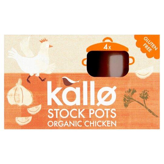 image 1 of Kallo Organic Chicken Stockpot 96G