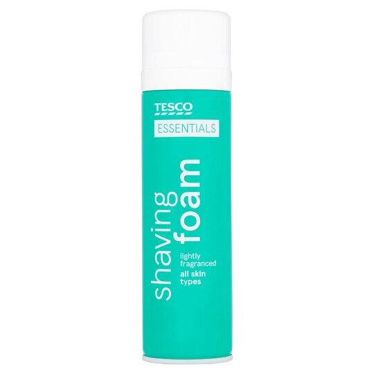 Tesco Essentials Shaving Foam 250Ml