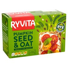 image 2 of Ryvita Pumpkin & Oats Crisp Bread 4X50g