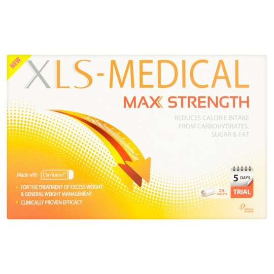Xls Medical Max Strength 20 Tablets