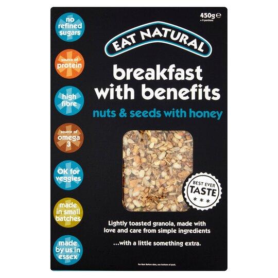 Eat Natural Breakfast Plus Benefit Honey 450G