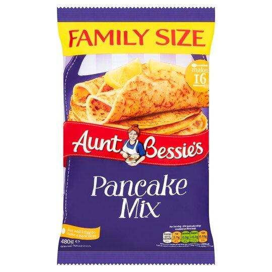 Aunt Bessie's Family Size Pancake Mix 480G