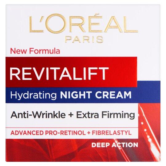 image 1 of L'oreal Paris Revitalift Night Cream 50Ml