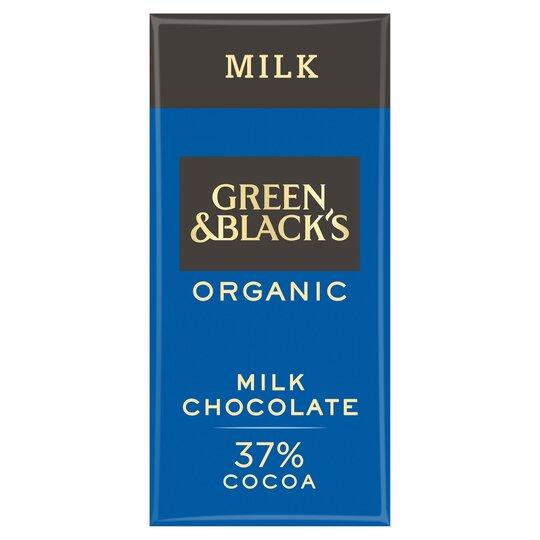 Green & Blacks Organic Milk Chocolate 90G