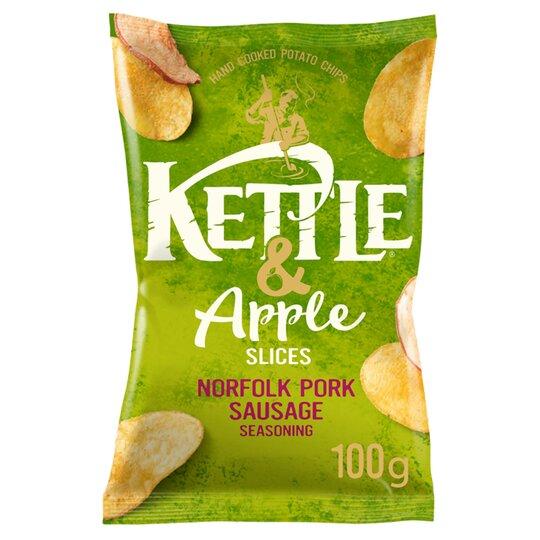 Kettle & Apple Slices Norfolk Pork Sausage 100G
