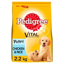 image 1 of Pedigree Dry Complete Puppy Chicken And Rice 2.2Kg