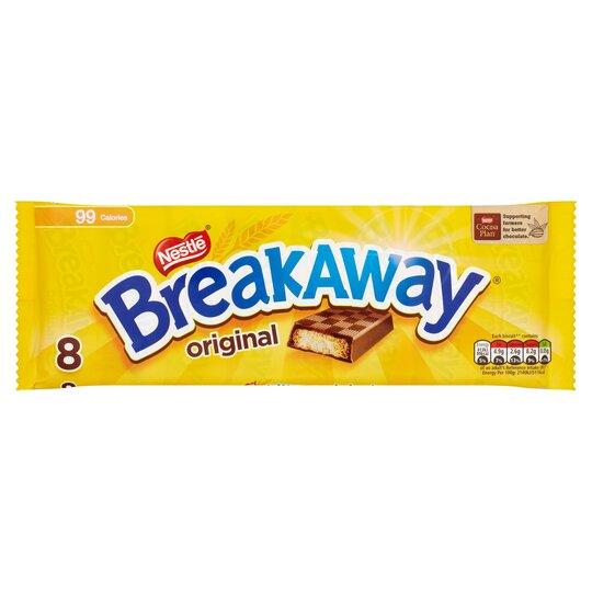 Breakaway Milk Chocolate Biscuit 8 Pack 152 8G
