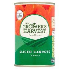 Grower's Harvest Sliced Carrots 300G