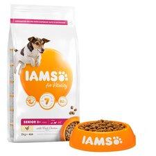 image 2 of Iams Small Medium Senior Dog Food With Chicken 2Kg