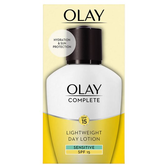 image 1 of Olay Complete Care Day Fluid Moisturiser Sensitive Spf 15 100Ml