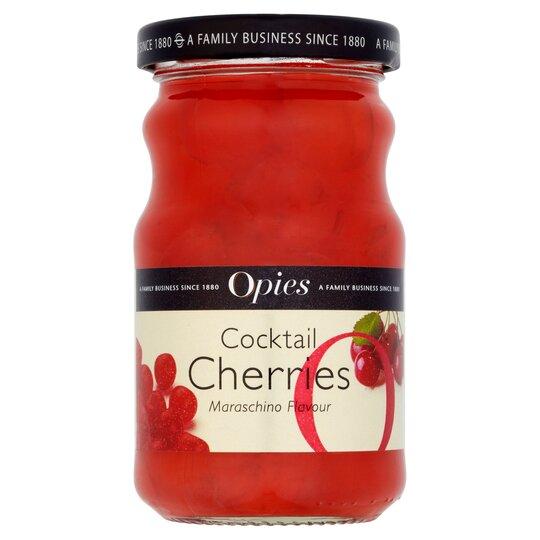 Opies Cocktail Cherries Maraschino 225G