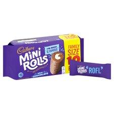 image 2 of Cadbury Mini Rolls Milk Chocolate 10 Pack