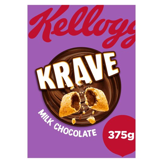 Kellogg's Krave Chocolate Cereal 375G