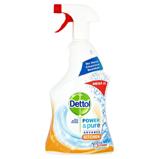 21ac4c9170b0 Dettol Power & Pure Kitchen Spray 1L - Tesco Groceries