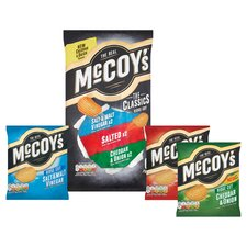 image 2 of Mccoy's Classic Variety Crisps 6X25g