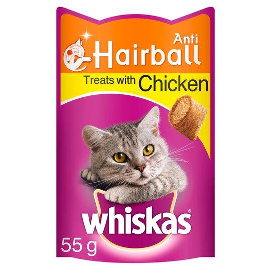 image 1 of Whiskas Anti Hairball 55G