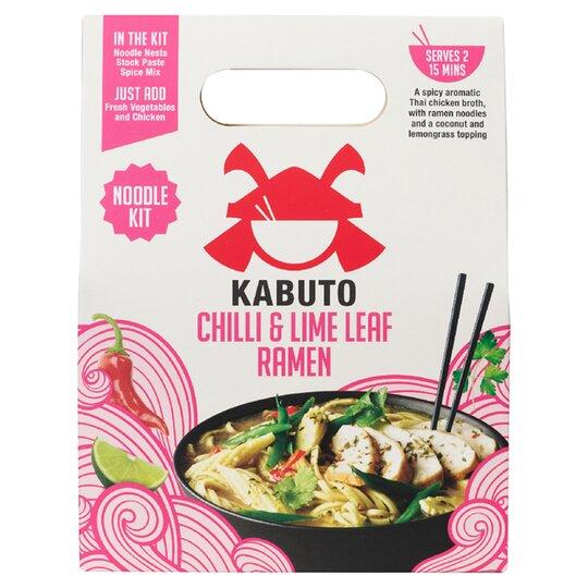 Kabuto Chilli & Lime Leaf Noodles Meal Kit 150G