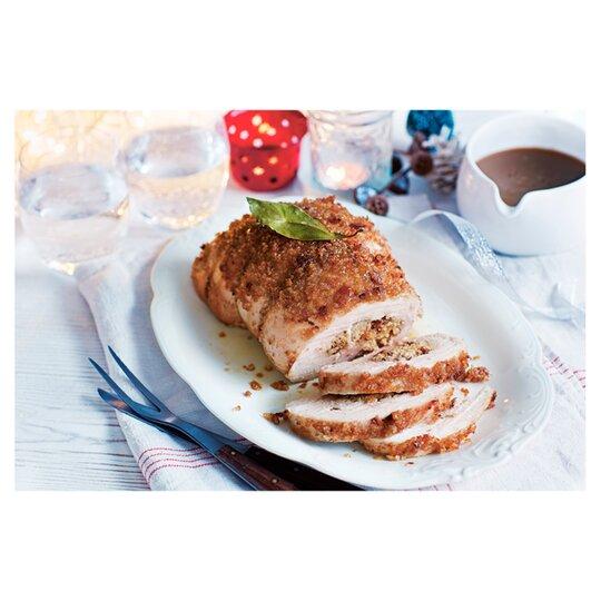 Tesco Turkey Roulade Mince Pie And Brandy Bttr1.4Kg ...