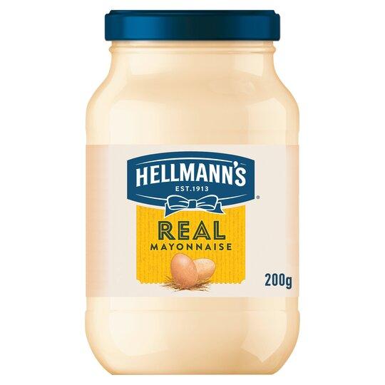 Hellmann's Real Mayonnaise 200G Jar