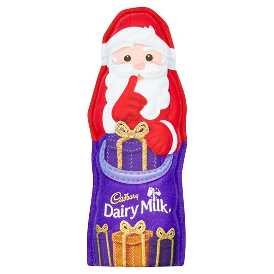 Cadbury Dairy Milk Hollow Santa 100G