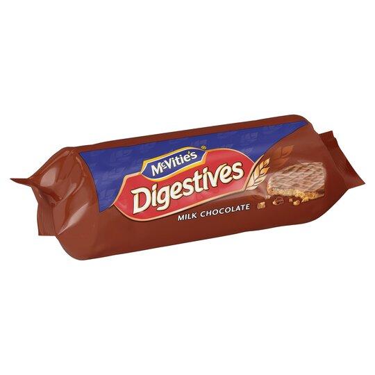 image 1 of Mcvities Milk Chocolate Digestive 266G