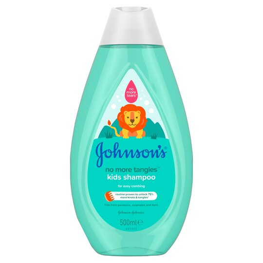 Johnson's Kids No More Tangles Shampoo 500Ml