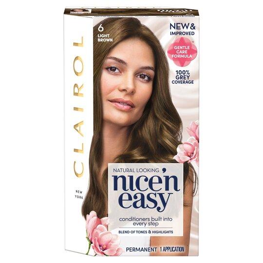 Clairol Nice 'N Easy Light Brown 6 Hair Dye