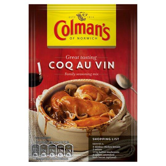 Colman's Coq Au Vin Recipe Mix 36G