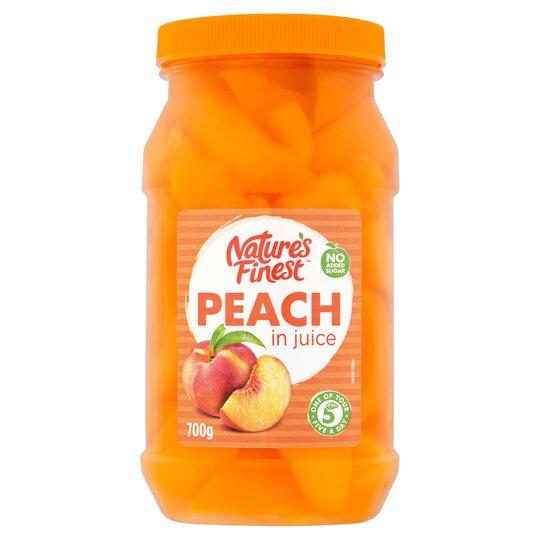 Nature's Finest Peach In Juice 700G