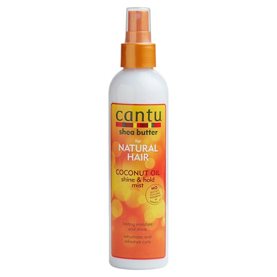 Cantu Coconut Oil Shine And Hold Mist 237Ml