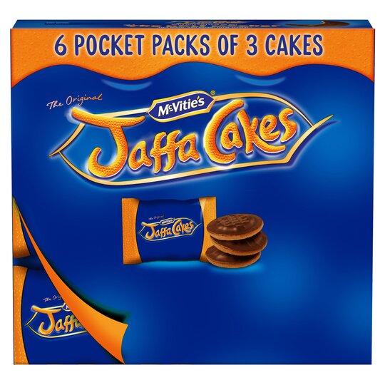 Mcvities 3 Jaffa Cakes Pocket Pks 183G