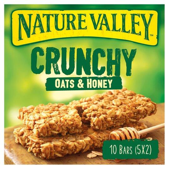 Nature Valley Crunchy Granola Oats & Honey 5X42g