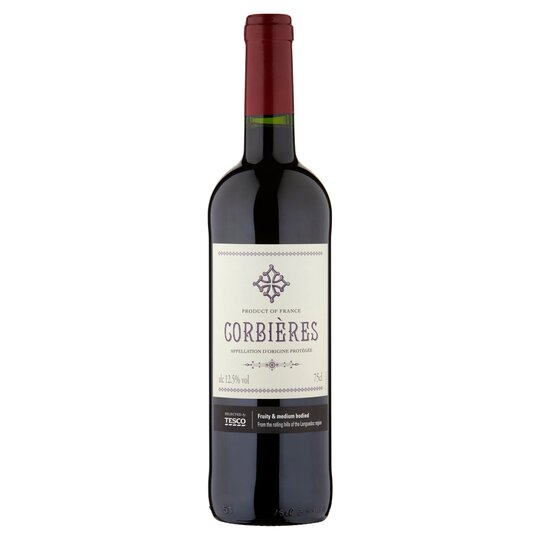 image 1 of Tesco Corbieres Red Wine 75Cl