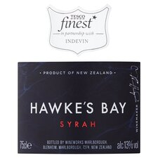 image 2 of Tesco Finest Hawkes Bay Syrah 75Cl
