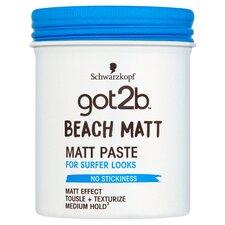 image 1 of Schwarzkopf Got2b Beach Matte Paste 100Ml