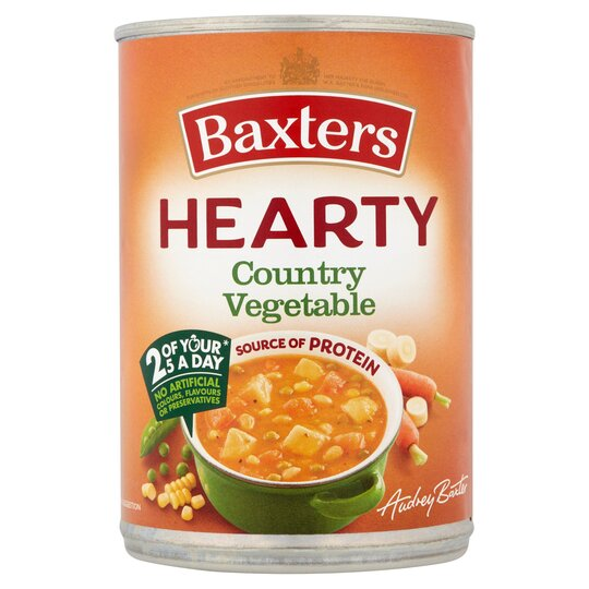 Baxters Hearty Country Vegetable 400G