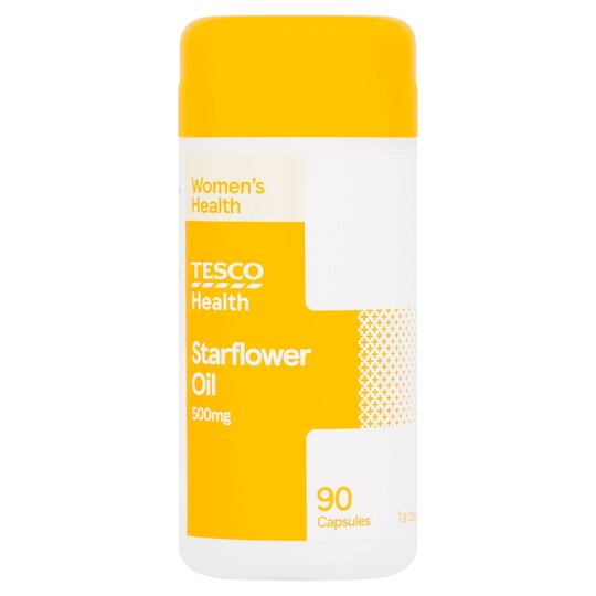 Tesco Starflower Oil 500Mg X 90